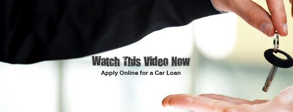 Apply online for an auto loan